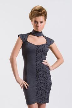Платье со шнуровкой на спине Авторская одежда SUGAR со скидкой
