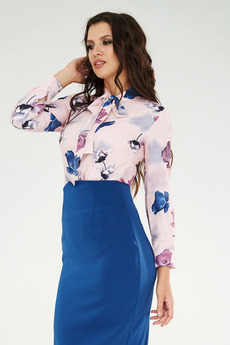 Блуза с бантом на шее Paola Rossi